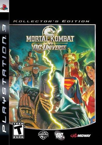 Mortal Kombat Vs DC Universe Kollectors Ed