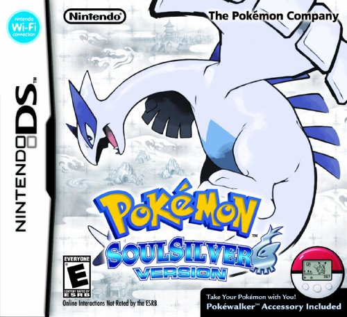Limited Edition Pokemon SoulSilver Version with Figurine (輸入版)