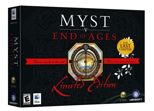 Myst V: End of Ages Limited Edition (Mac) (輸入版)