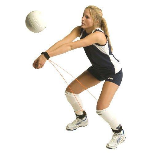 バレーボール練習用 レシーブ力強化ゴム製ストラップ