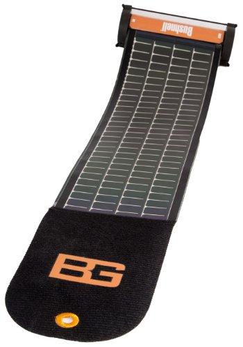 ブッシュネル BG ラップ型ソーラーUSB充電器 ?アウトドアでの電子機器の充電に?