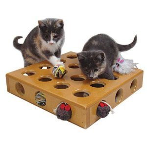 SmartCat 猫用 おもちゃパズルボックス Peek-a-Prize Pet Toy Box