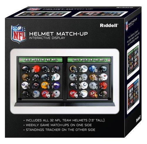 NFLファンアイテム 公式マッチアップヘルメットセット 32個セット