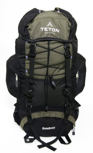 TETON Sports Scout 3400  登山・ハイキングに最適!バックパック ハンターグリーン
