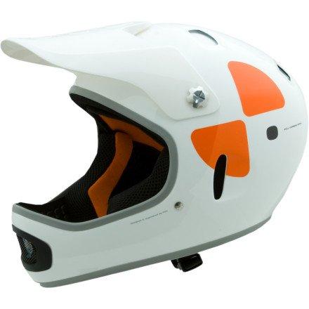 スリムで快適なフィット・Cortex DH MIPS Helmet ヘルメット(サイズ:S/M、M/L) POC社 White