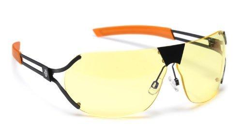GUNNAR ゲーミング アイウェア Steelseries Desmo - 送料無料 新品 セミフレームレ Onyx DES-05101 Orange 信託 オレンジ 黒