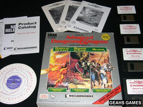 AD&D 3 Pack includes HEROES OF THE LANCE / DRAGONS OF FLAME / HILLSFAR (輸入版), ヤオツチョウ aa1624ac