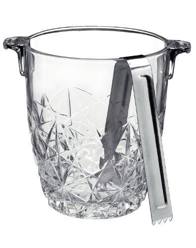 Bormioli Rocco <ボルミオリ ロッコ> アイスバスケット  Ice Bucket with Tongs