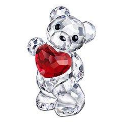 スワロフスキー SWAROVSKI クリスタル フィギュア クリスベア あなたのために (A Heart for you) 958449
