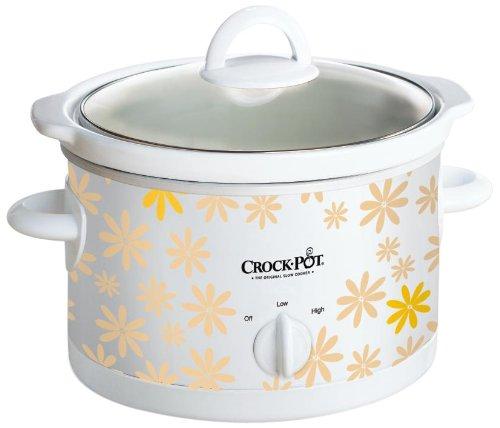 Crock Pot クロックポット SCR250-DA 2.4L Slow Cooker スロークッカー 電気調理鍋 (小花柄)