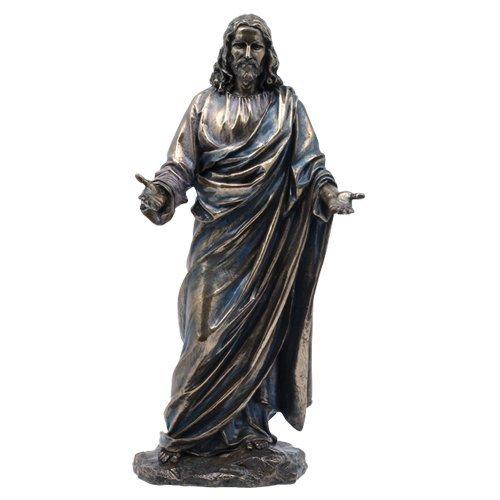 イエス キリスト 祝福 ブロンズ 彫刻像 JESUS CHRIST BLESSING STATUE