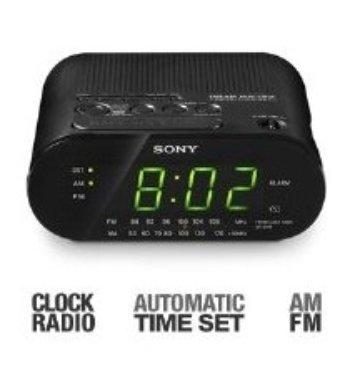 Sony ICF-C218-FM/AM Alarm Clock Radio