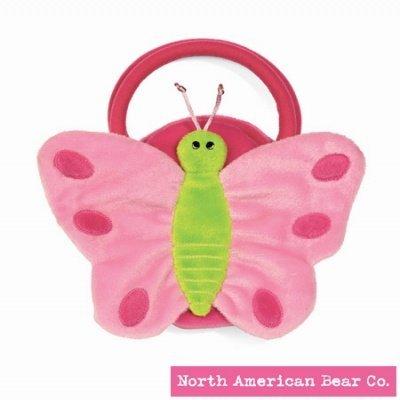 North American Bear ノースアメリカンベア Company Goody Bag Butterfly Pink ぬいぐるみ