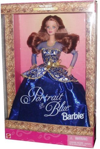 Barbie バービー PORTRAIT IN BLUE DOLL 人形 ドール