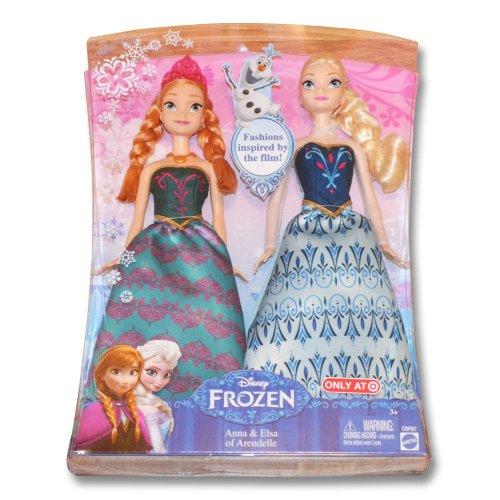 限定版 ディズニーフローズン 「アナと雪の女王」 アナ&エルサ ファッションドール