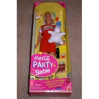 Coca-Cola Party Barbie バービー Doll 人形 ドール