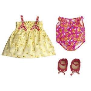 North American Bear ノースアメリカンベア Company Rosy Cheeks Baby Beach Outfit Set ドール 人形 お