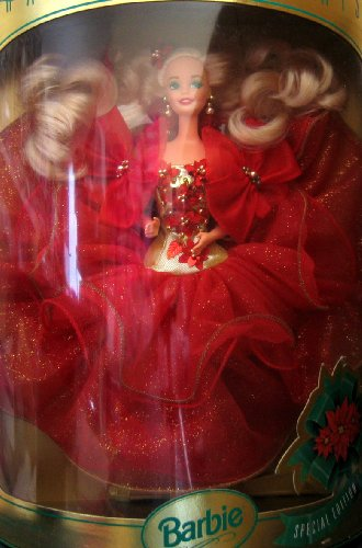 バービーHappy Holidays Barbie Doll Hallmark Special Edition (1993)  10824