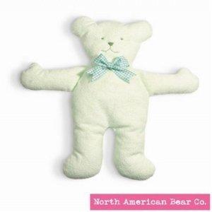 Pastel Pancake Bear Green by North American Bear ノースアメリカンベア Co. (3540) ぬいぐるみ
