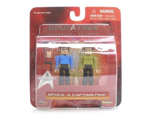Star Trek スター・トレック The Original Series Diamond Select Toys Minimates Series 1 2-Pack Spock