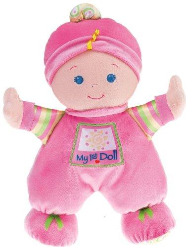 Fisher-Price フィッシャープライス Brilliant Basics Baby's First Doll 人形 ドール