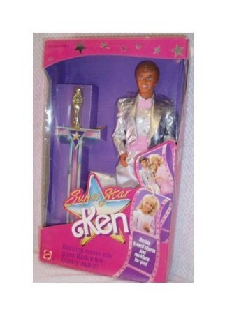 Ken Doll Super Star 1988 New in Box Vintage ドール 人形 フィギュア