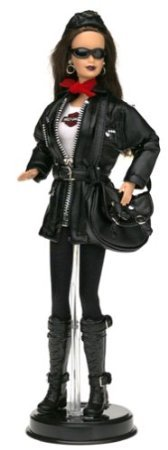 Harley-Davidson (ハーレーダビッドソン) Barbie(バービー) #3 Brunette Barbie(バービー) Doll Motorcyc