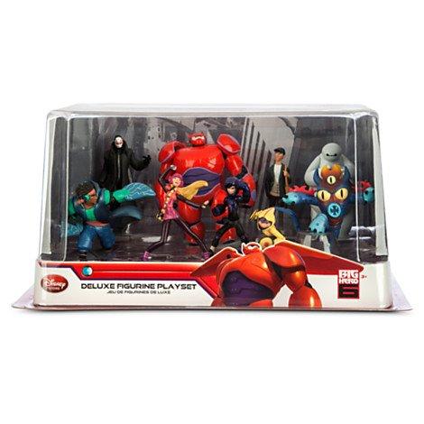 Disney(ディズニー) US公式商品 ベイマックス(BAYMAX) フィギュアセット / Big Hero 6 Figure set 日