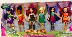 Disney (ディズニー)Pirate Disney Fairy Doll Set of 6 Dolls Tinkerbell Tinkerbell (ティンカーベル) Fairy Doll NEW ドール, Luty:f381b6cf --- daytonchurches.com