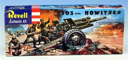 ノンスケール 105mm ホイッツァー野砲 復刻版