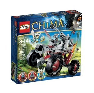 LEGO (レゴ) Chima Wakz Pack Tracker 70004 ブロック おもちゃ