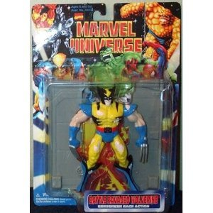 Marvel Universe バトル Ravaged Wolverine Action フィギュア