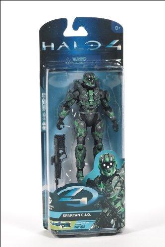 HALO4 アクションフィギュア シリーズ2 スパルタンC.I.O. (スティール/グリーン) / マクファーレントイズ