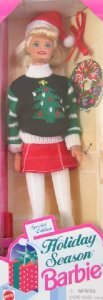 Holiday Season Barbie(バービー) Doll Special Edition (1996) ドール 人形 フィギュア