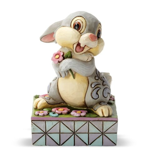Enesco Disney Traditions by Jim Shore Thumper from Bambi Figurine, 3.75-Inch