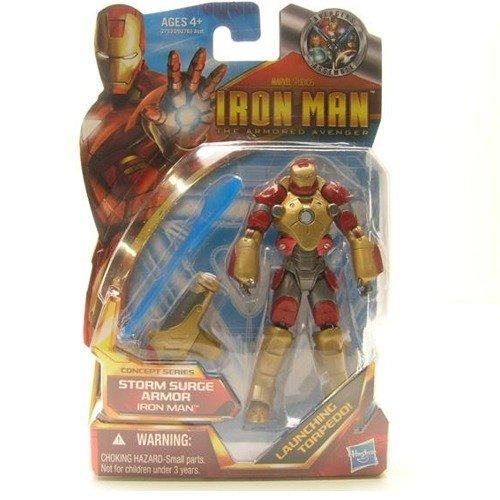 Iron Man アイアンマン 2 Concept 4 Inch Action Figure #46 Iron Man アイアンマン Storm Surge Armor