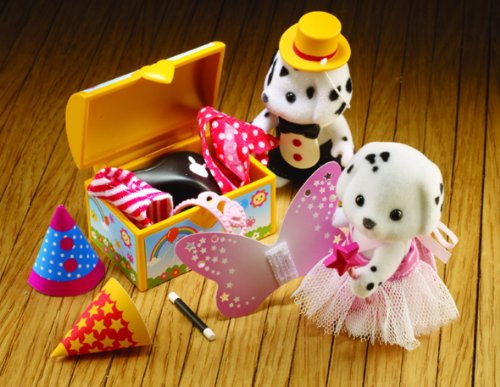 Sylvanian Families Dressing Up Time 人形 ドール