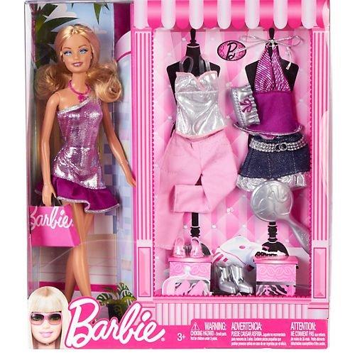 バービー Barbie Fab Life Doll and Fashion - Pink Skirt and Accessories Doll