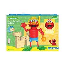 Knex ケネックス / エルモの海水浴 セット♪  (ブロックの1つ1つが大きいので、小さなお子様でも簡