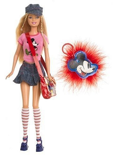 Barbie バービー Loves Mickey Mouse 人形 ドール