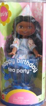 Barbie(バービー) Kelly Happy Birthday Tea Party DEIDRE Doll AA LEMON HEAD Style (2003) ドール 人形
