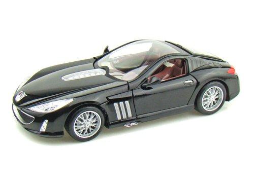 BBurago Peugeot (プジョー) 907 V12 1/18 Black BB12075-BK ミニカー ダイキャスト 自動車