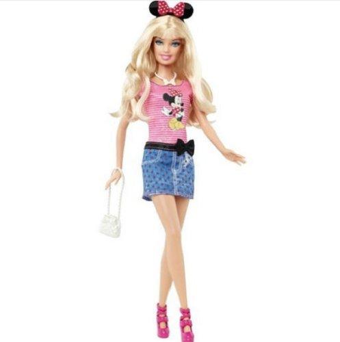 Loves ディズニー ミニーマウス バービー 人形 2012