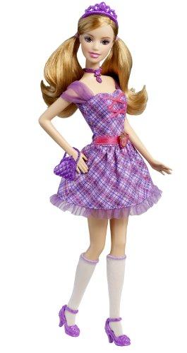 バービーBarbie Princess Charm School: School Girl Princess Delancy Doll V8703