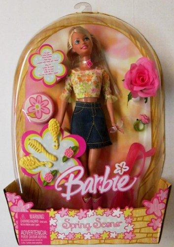 Barbie バービー Spring Scene 人形 ドール