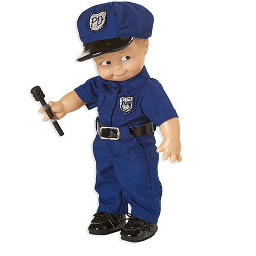 Kewpie Police Officer Doll 人形 ドール