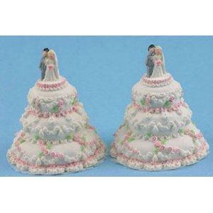 Dollhouse WEDDING CAKE/2PC