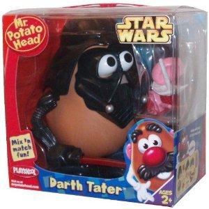Playskool Mr. Potato ヘッド Star Wars シリーズ - DARTH TATER