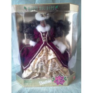 1996 AA Happy Holidays Barbie