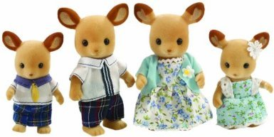 Sylvanian Families Red Deer Family ドール 人形 おもちゃ